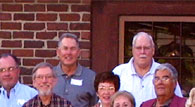 enlarged right side of 50th reunion photo
