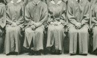 enlarged left side of grad photo