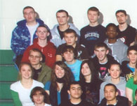 enlarged left side of 2009 grad photo