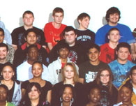 enlarged right side of 2009 grad photo